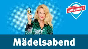 Hitradio antenne 1 barba radio - Mädelsabend Logo