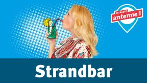 Hitradio antenne 1 barba radio - Strandbar Logo