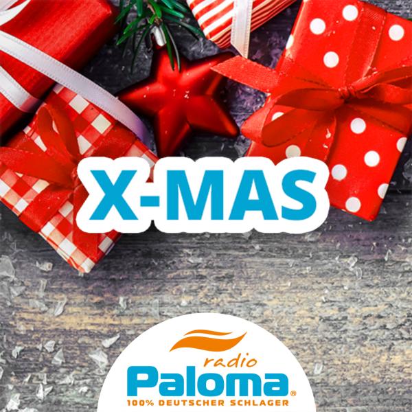 Radio Paloma - Weihnachtsschlager (X-MAS) Logo
