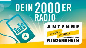 Antenne Niederrhein - Dein 2000er Radio Logo