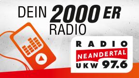 Radio Neandertal - Dein 2000er Radio Logo