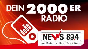 NE-WS 89.4 - Dein 2000er Radio Logo