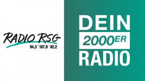 Radio RSG - Dein 2000er Radio Logo