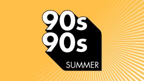 90s90s Sommerhits: Der Sommersound der 90er. Logo
