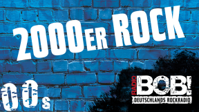 RADIO BOB! - 2000er Rock Logo