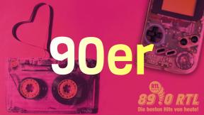 89.0 RTL 90er Logo