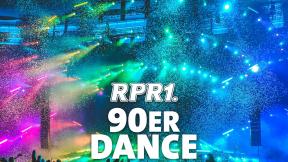 RPR1. 90er Dance Logo