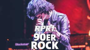 RPR1. 90er Rock Logo