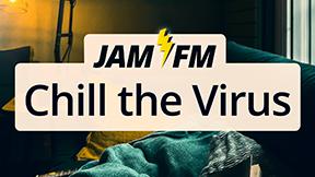 JAM FM Chill the Virus Logo