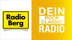 Radio Berg - Dein Rock Classic Radio Logo