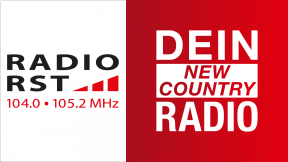 Radio RST - Dein New Country Radio Logo