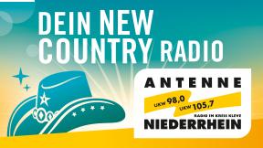 Antenne Niederrhein - Dein New Country Radio Logo