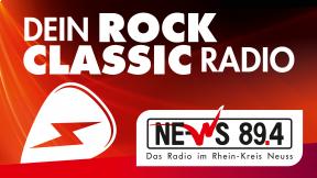 NE-WS 89.4 - Dein Rock Classic Radio Logo