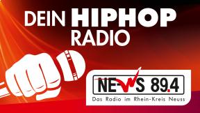 NE-WS 89.4 - Dein HipHop Radio Logo