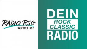 Radio RSG - Dein Rock Classic Radio Logo