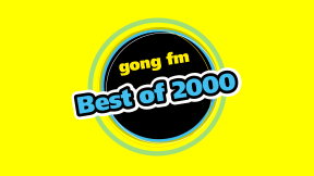 gong fm Best of 2000 Logo