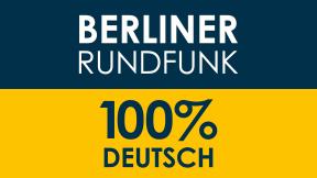 Berliner Rundfunk 91.4 - 100% Deutsch Logo
