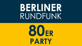 Berliner Rundfunk 91.4 - 80er Party Logo