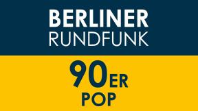 Berliner Rundfunk 91.4 - 90er Pop Logo