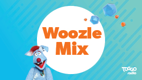 104.6 RTL TOGGO Radio Woozle Mix Logo
