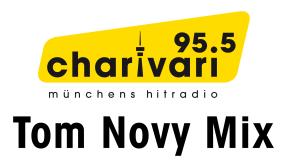 95.5 Charivari München - Tom Novy Mix Logo