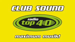 radio TOP 40 Clubsound Logo