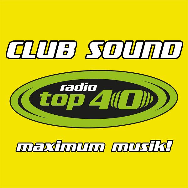 radio TOP 40 Clubsound Logo