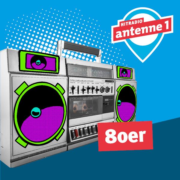 antenne 1 80er Logo