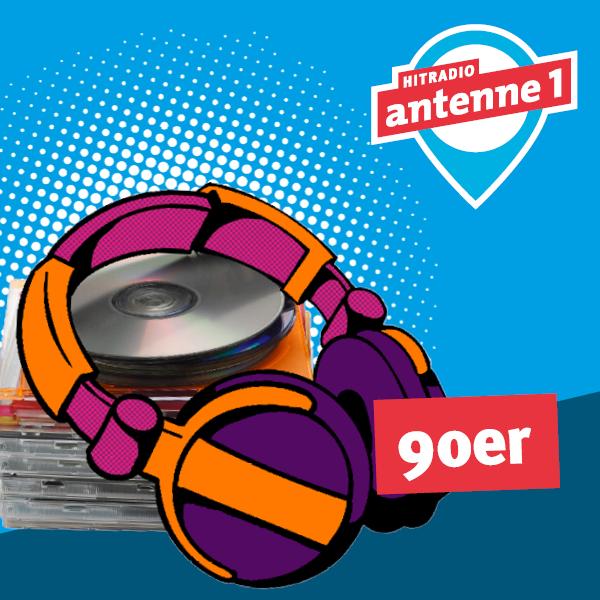 antenne 1 90er Logo