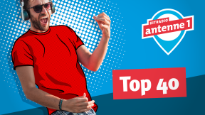 Hitradio antenne 1 Top40 Logo