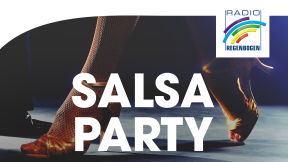 Radio Regenbogen Salsa-Party Logo