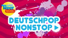 Deutschpop Nonstop von Radio TEDDY Logo