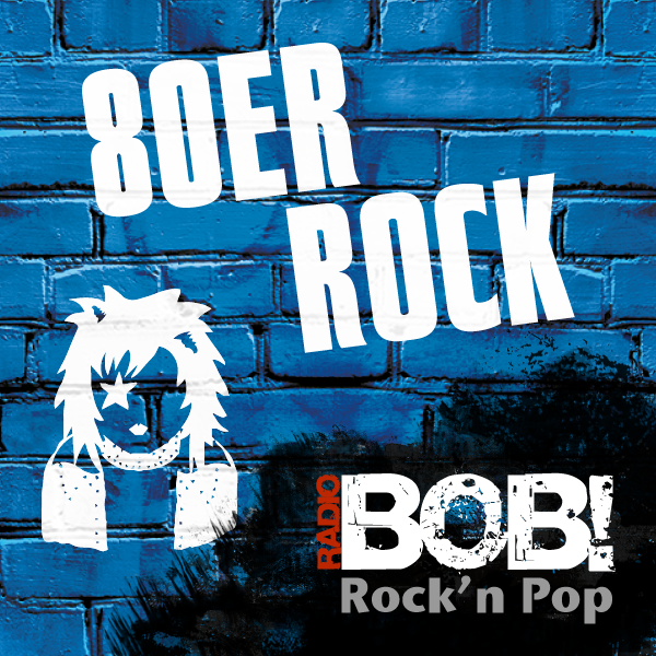 RADIO BOB! - 80er Rock Logo