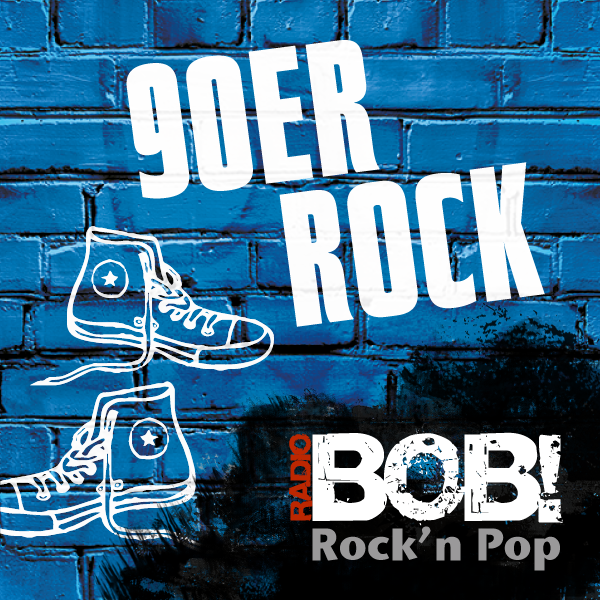 RADIO BOB! - 90er Rock Logo