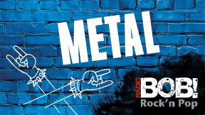 RADIO BOB! - Metal Logo