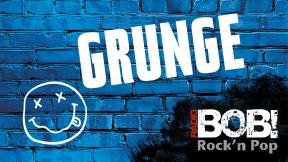RADIO BOB! - Grunge Logo