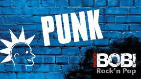 RADIO BOB! - Punk Logo