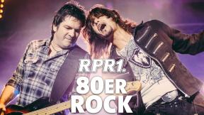 RPR1. 80er Rock Logo