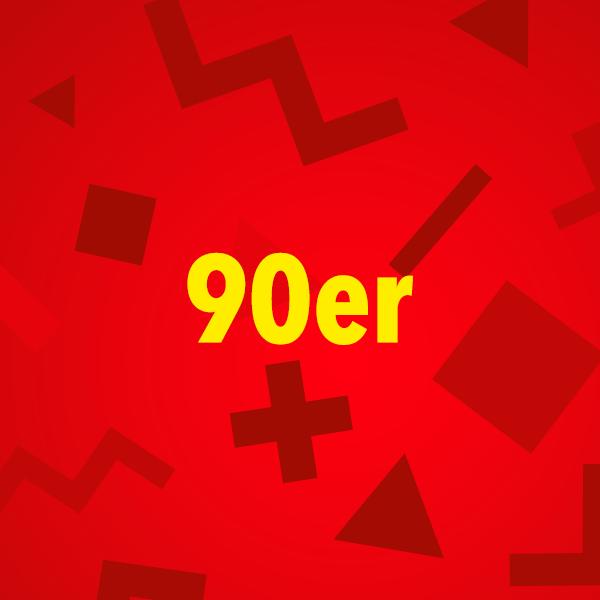 104.6 RTL 90er Logo