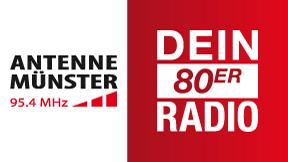 Antenne Münster - Dein 80er Radio Logo