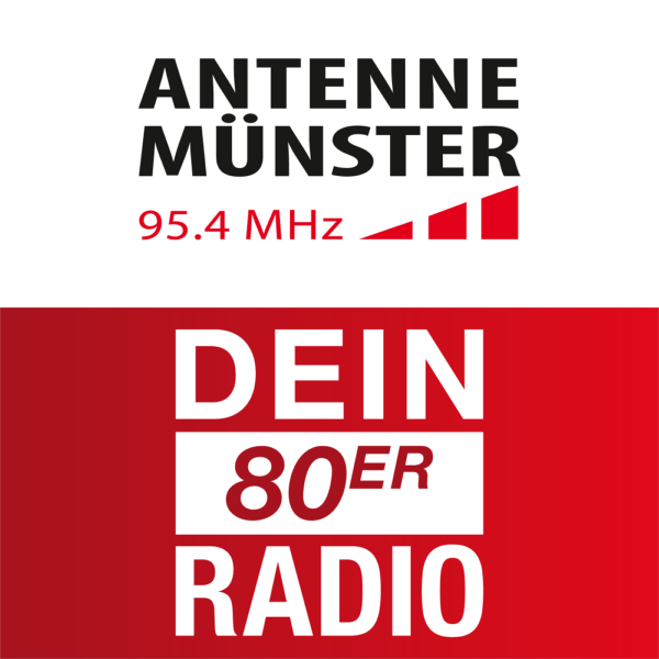 ANTENNE MÜNSTER - 80er RADIO Logo