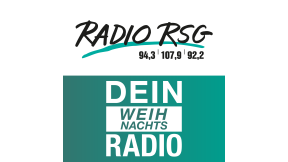 Radio RSG Weihnachtsradio Logo