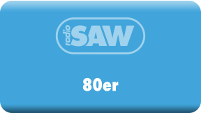 radio SAW-80er Logo